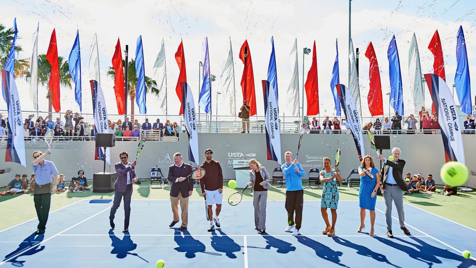 Grand Opening of the USTA National Campus