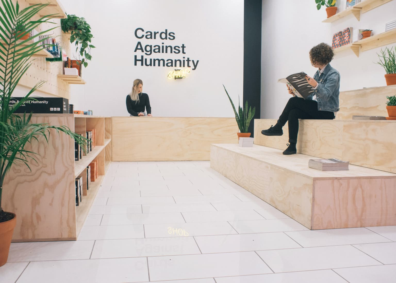 Cards Against Humanity Pop-Up Shop