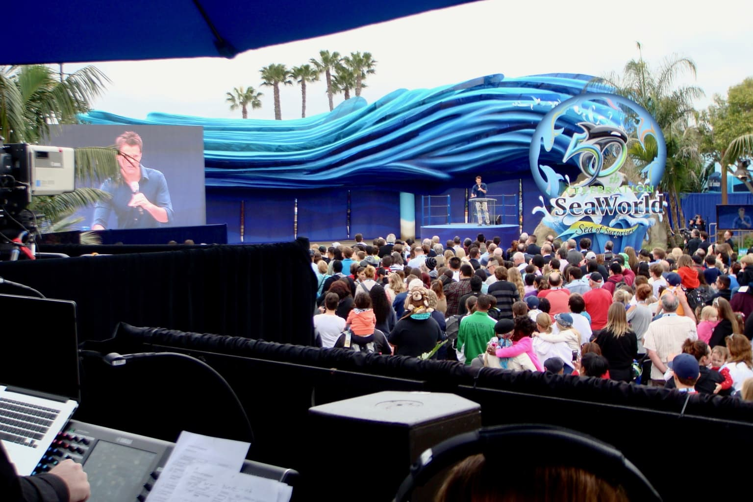 Milestone Events for SeaWorld