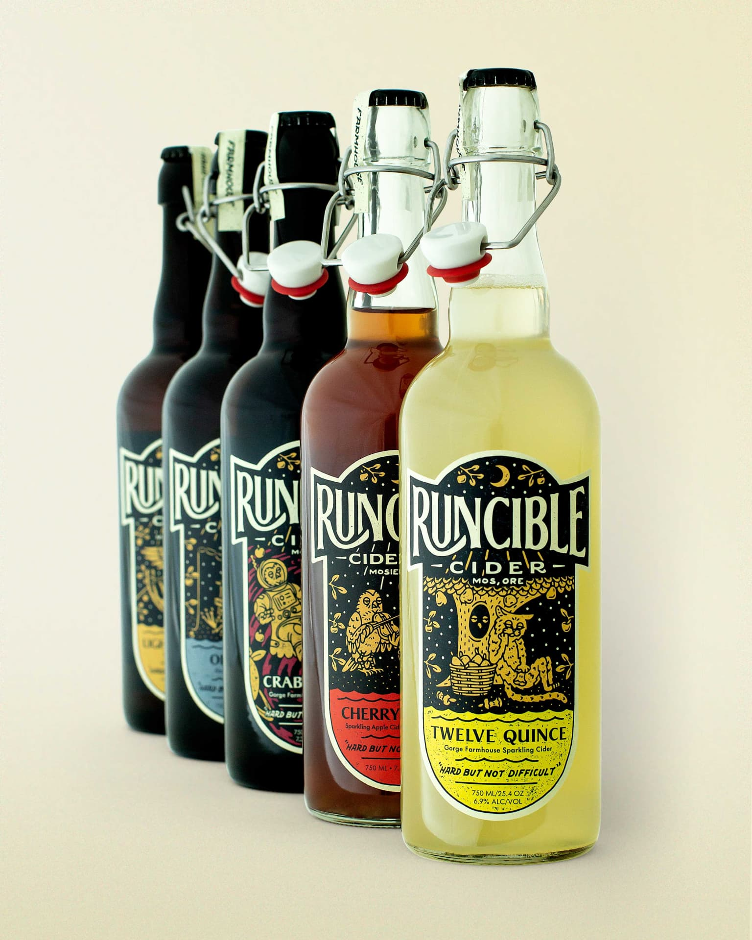 Runcible Cider Branding/Packaging