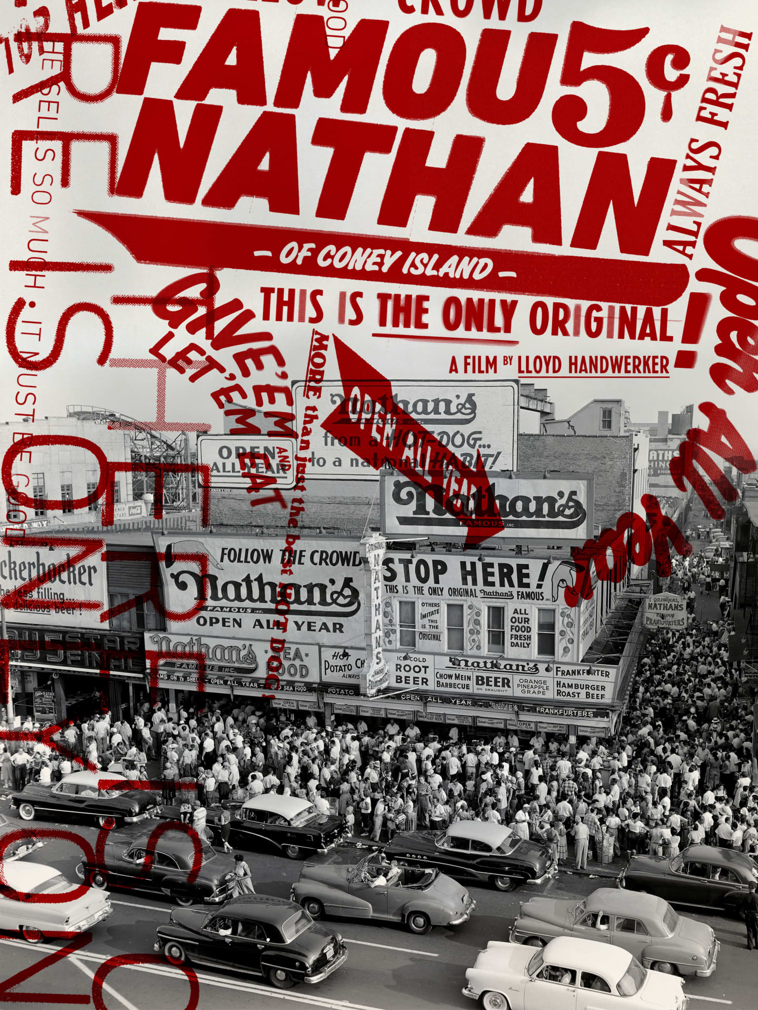 """Famous Nathan"" Documentary Film Logo & Identity System"