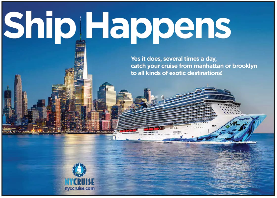 """""""Ship Happens"""" NYC Cruise campaign"""