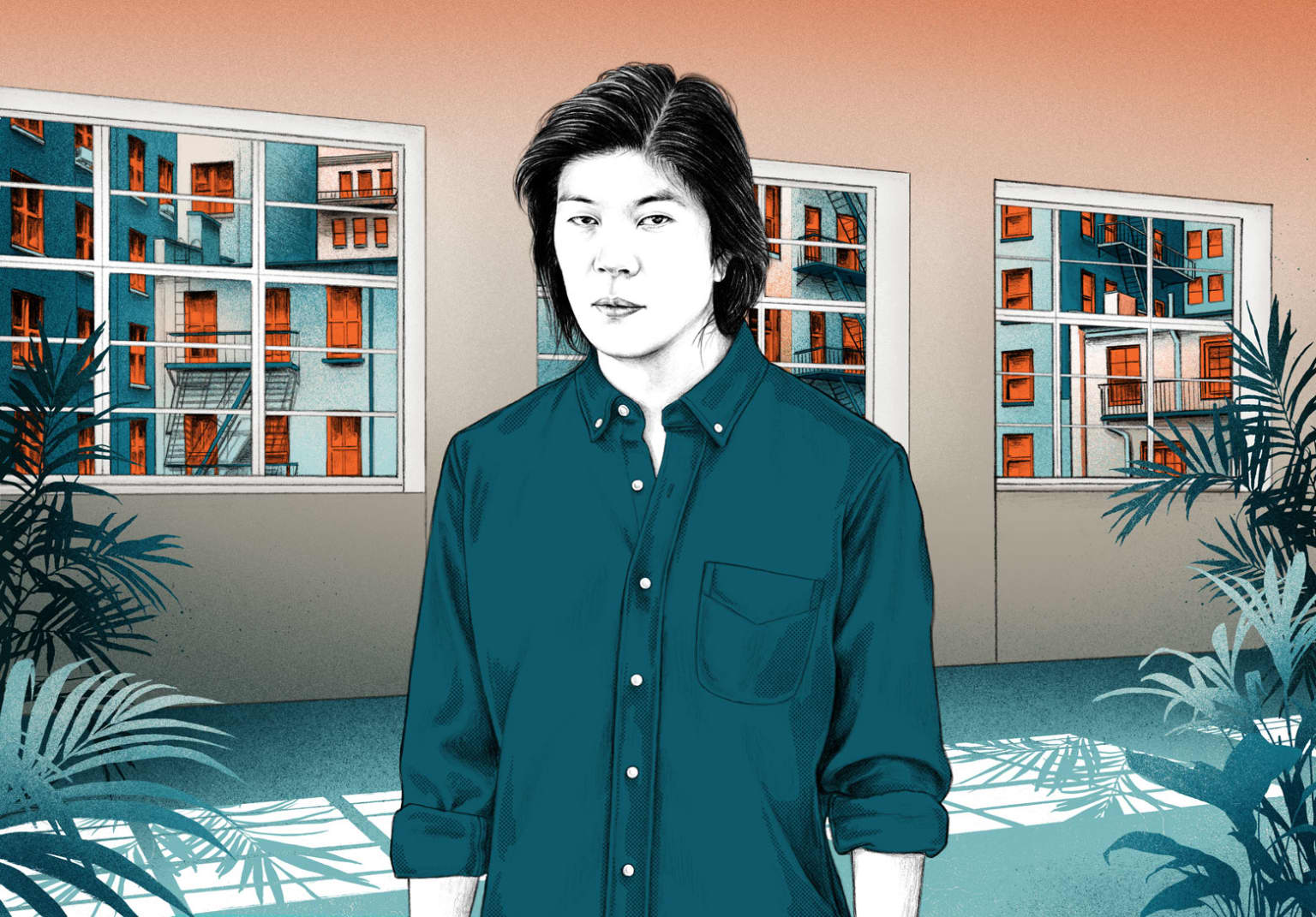 Portrait - James Iha