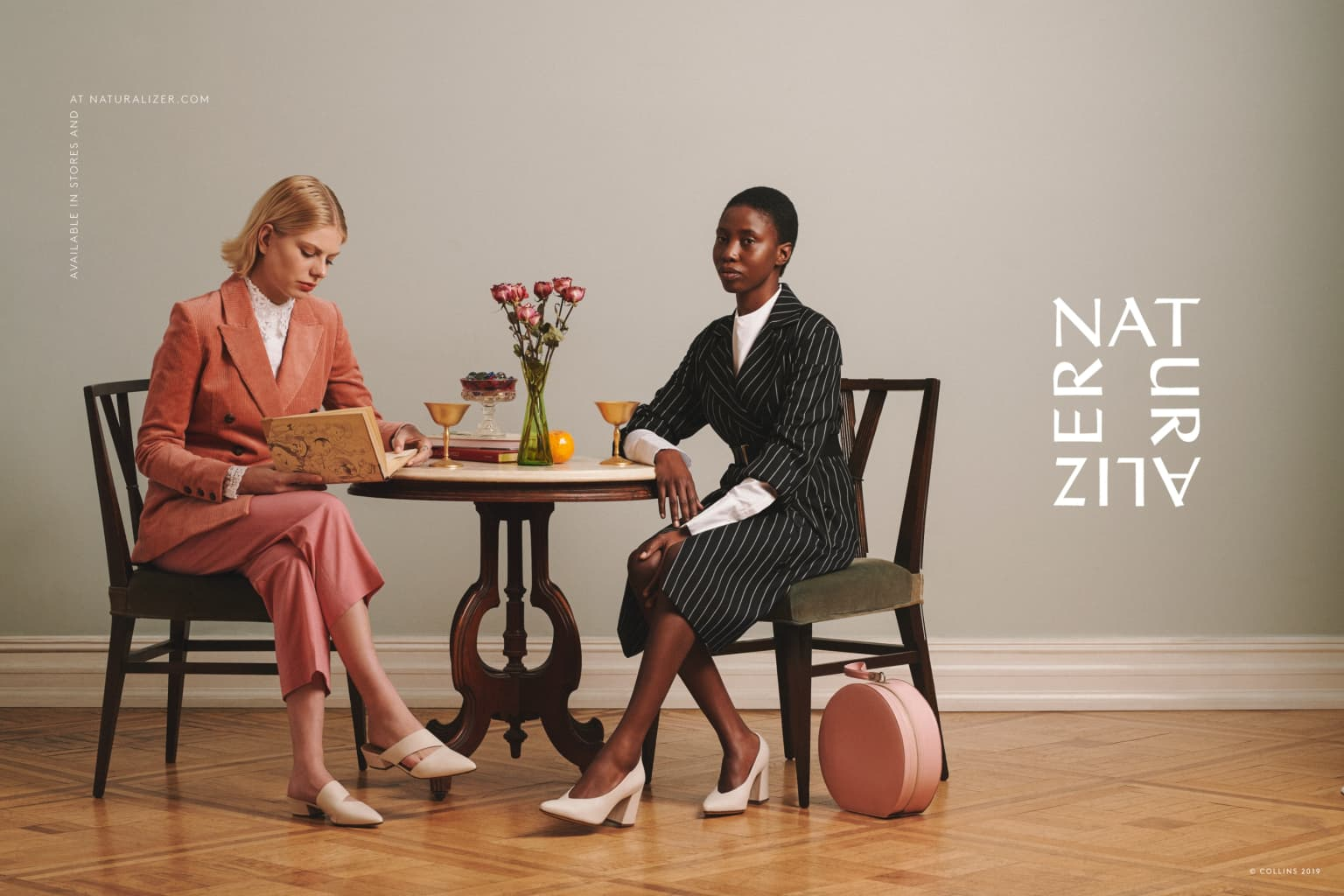 Naturalizer x Collins Rebrand