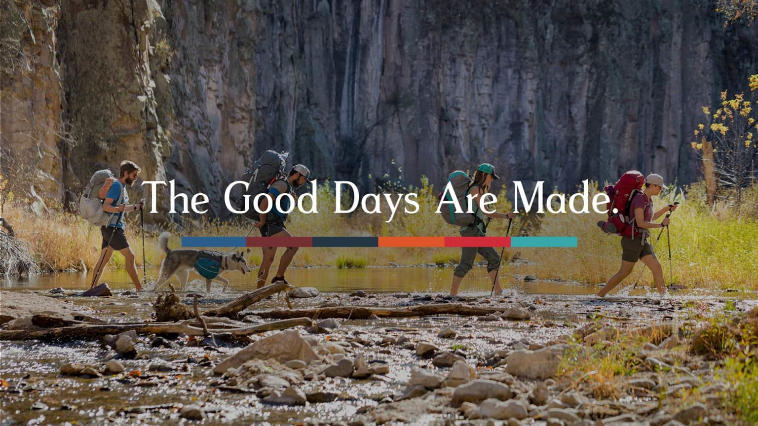 Osprey | The Good Days Are Made Campaign