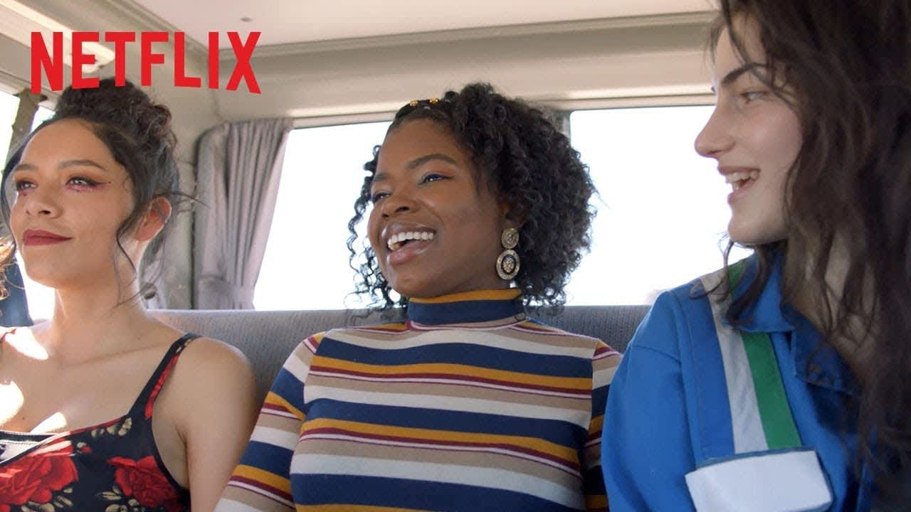 Chambers Cast Explore New Mexico | Road Trip | Netflix