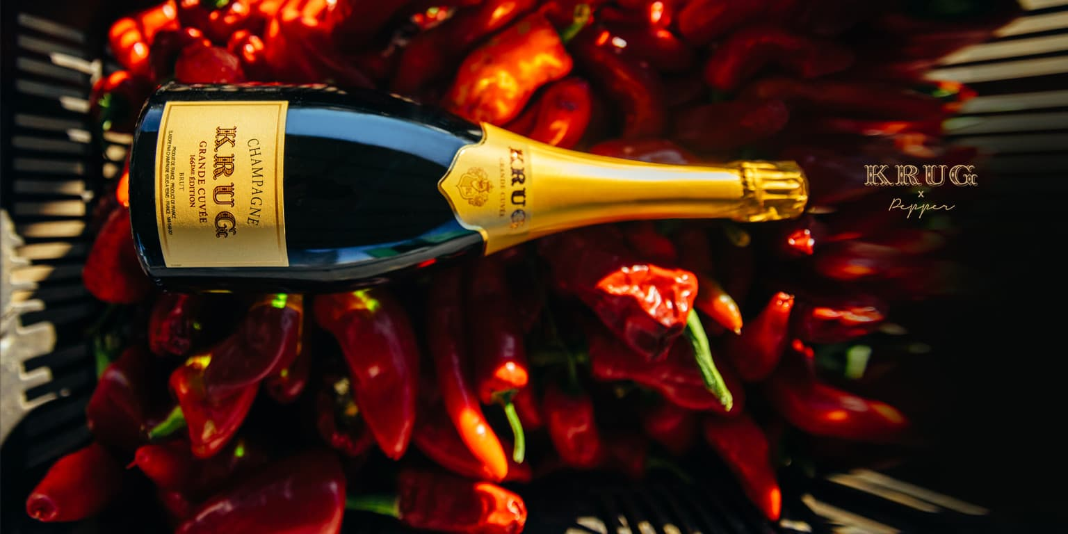 KRUG x Pepper