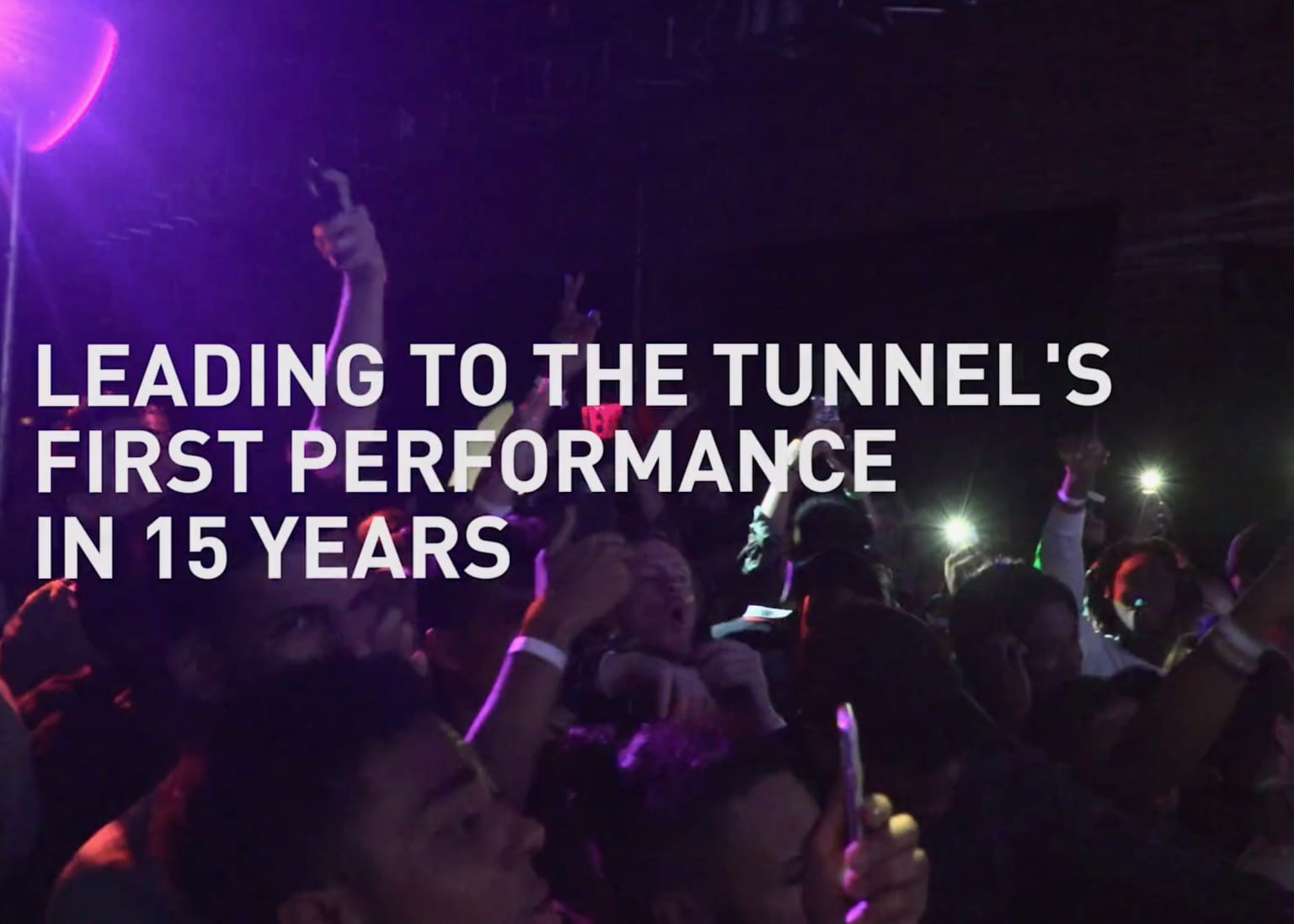 adidas - The Tunnel, 90's Hip-Hop back to life 15 yrs later.