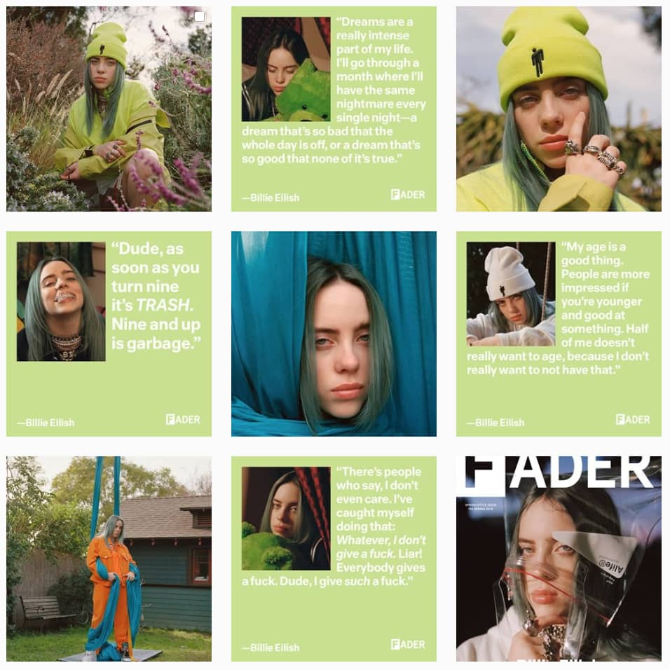 The FADER cover rollouts