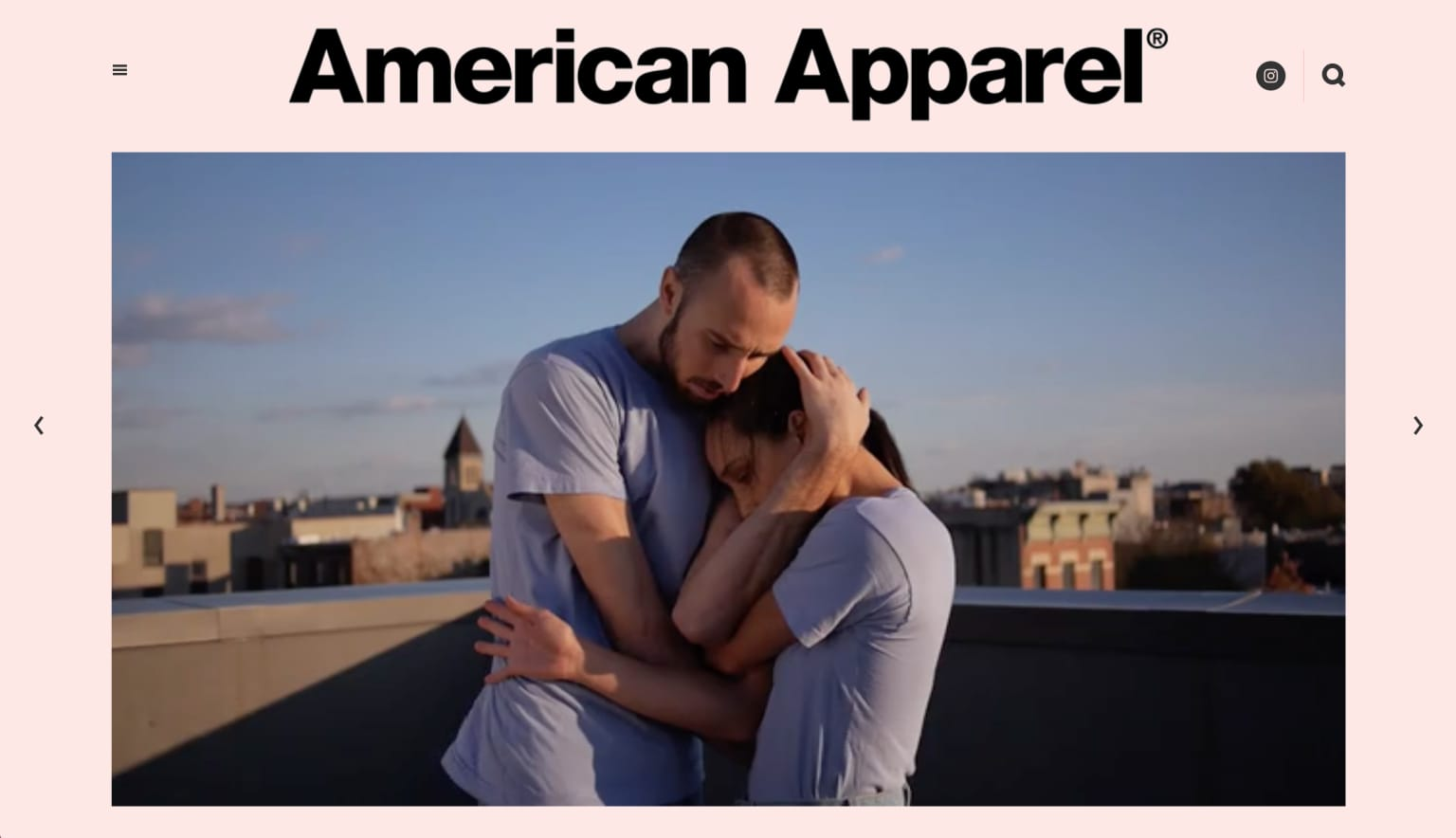American Apparel - Name Something Blue