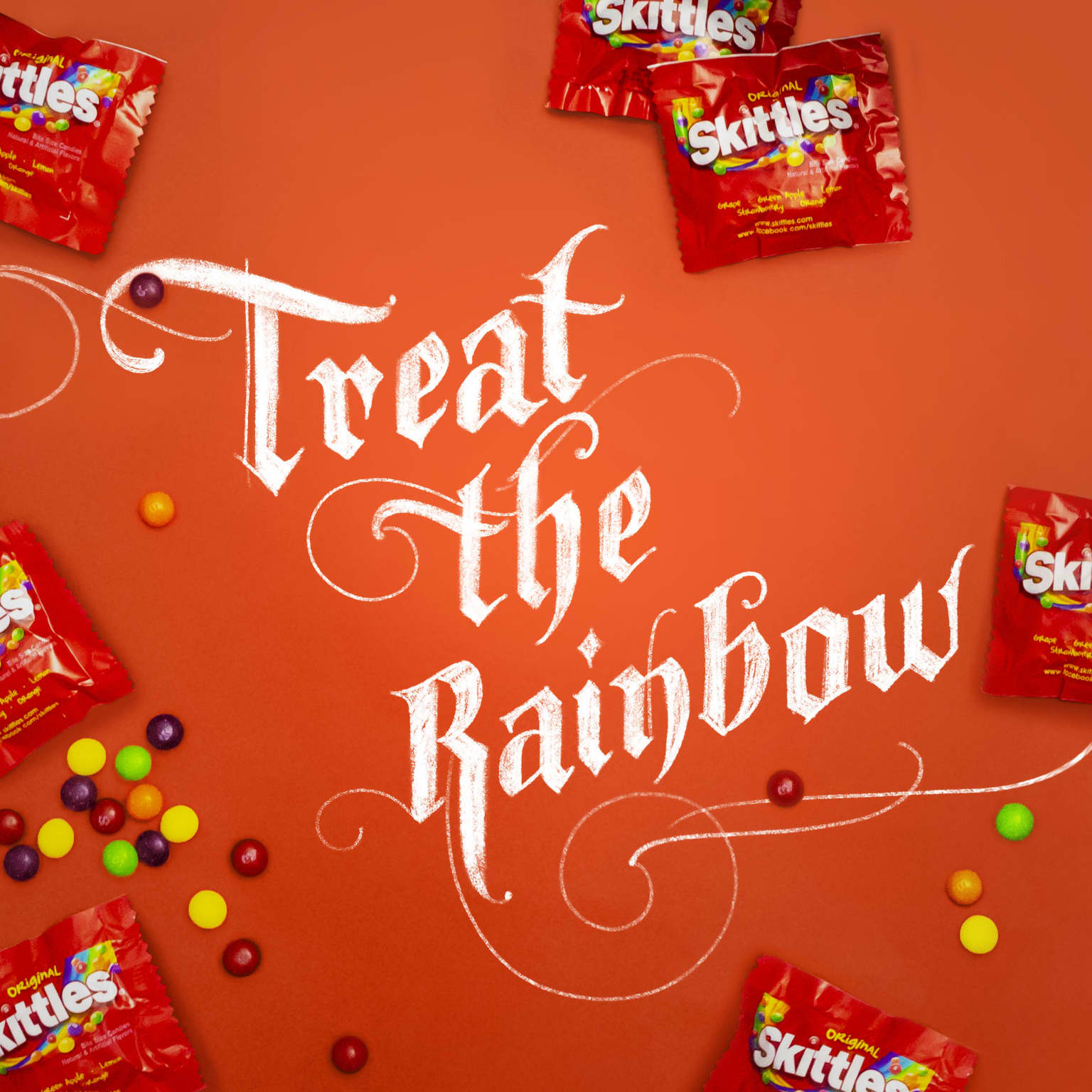 Skittles Social Content
