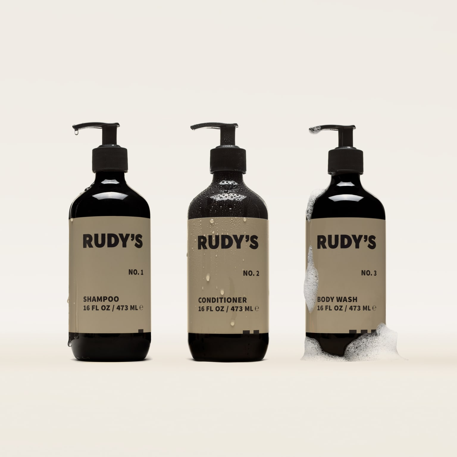 Rudy's — Shampoo, Conditioner, and Body Wash