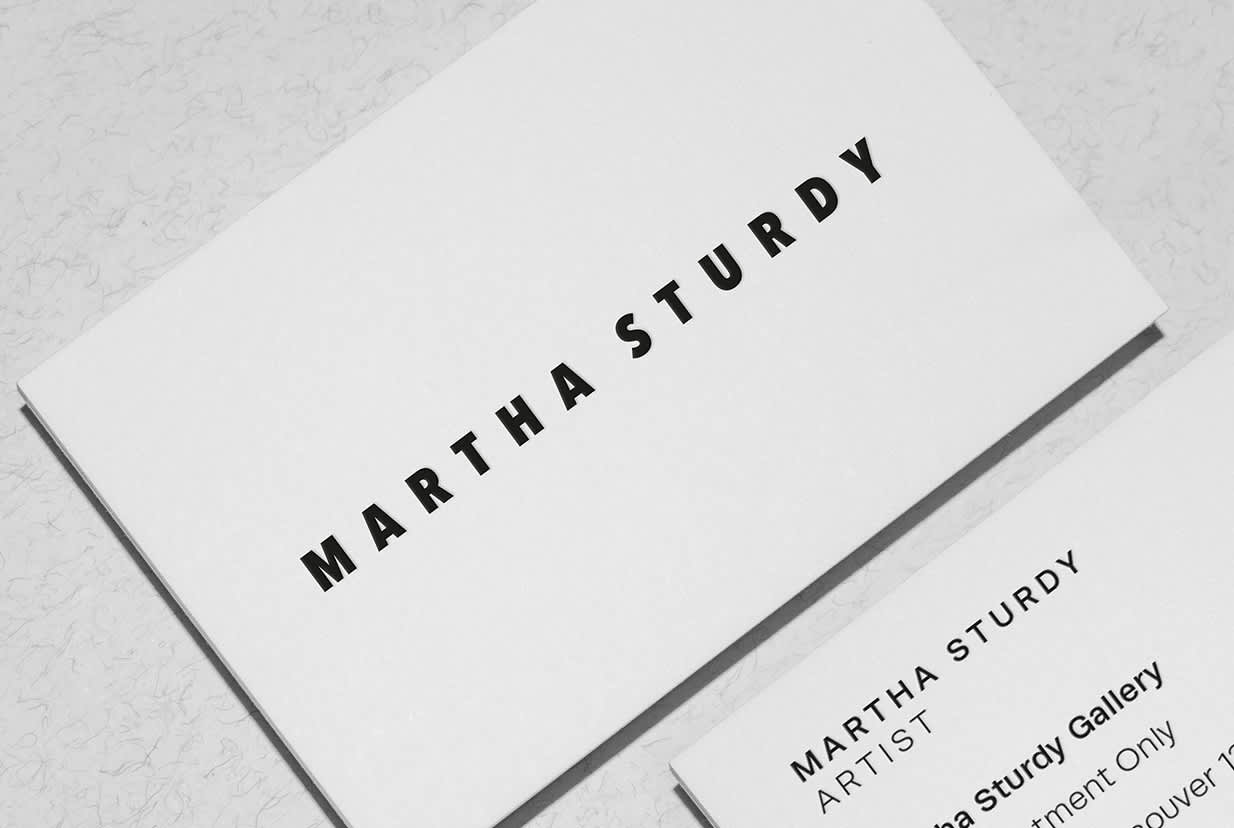 Martha Sturdy Branding and Website Design