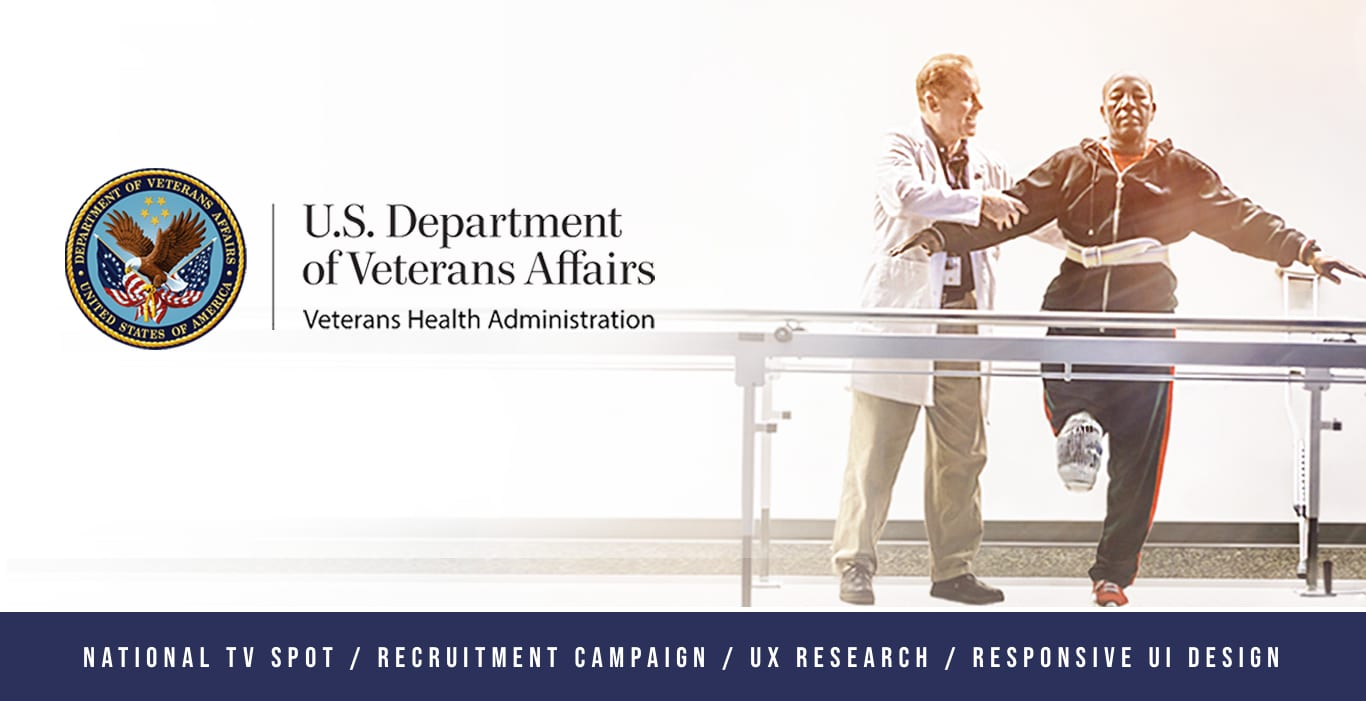 U.S. Department of Veterans Affairs // Recruitment Campaign for Medical Professionals