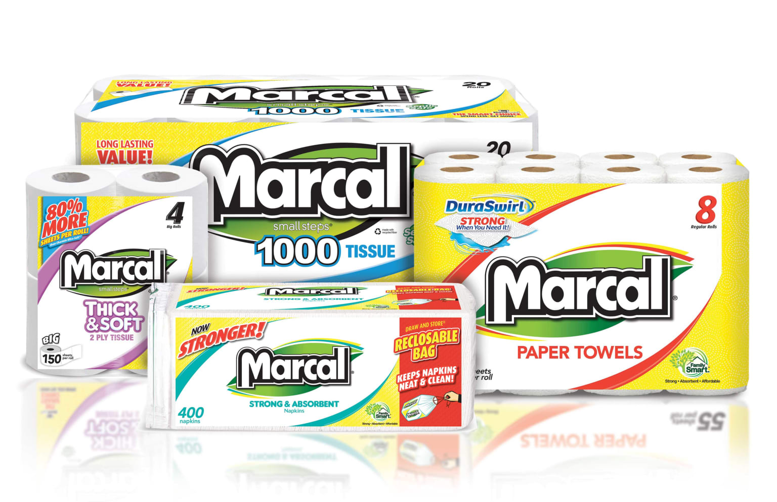 Marcal Paper Products Redesign