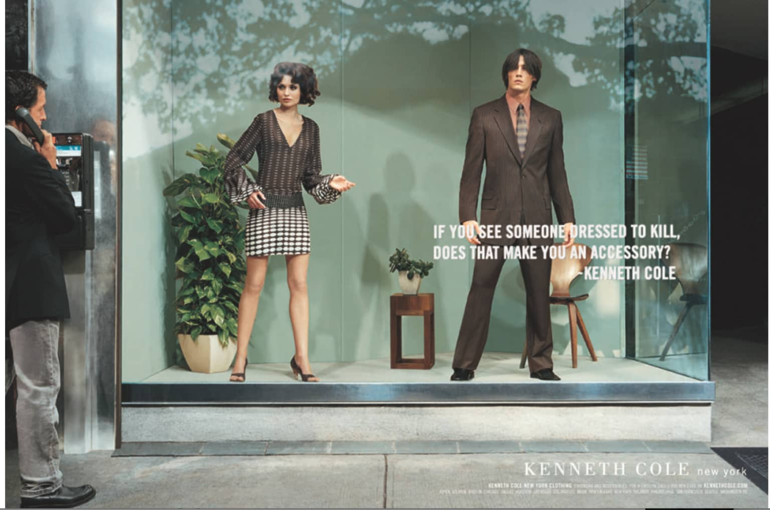 Kenneth Cole National Ad Campaign.