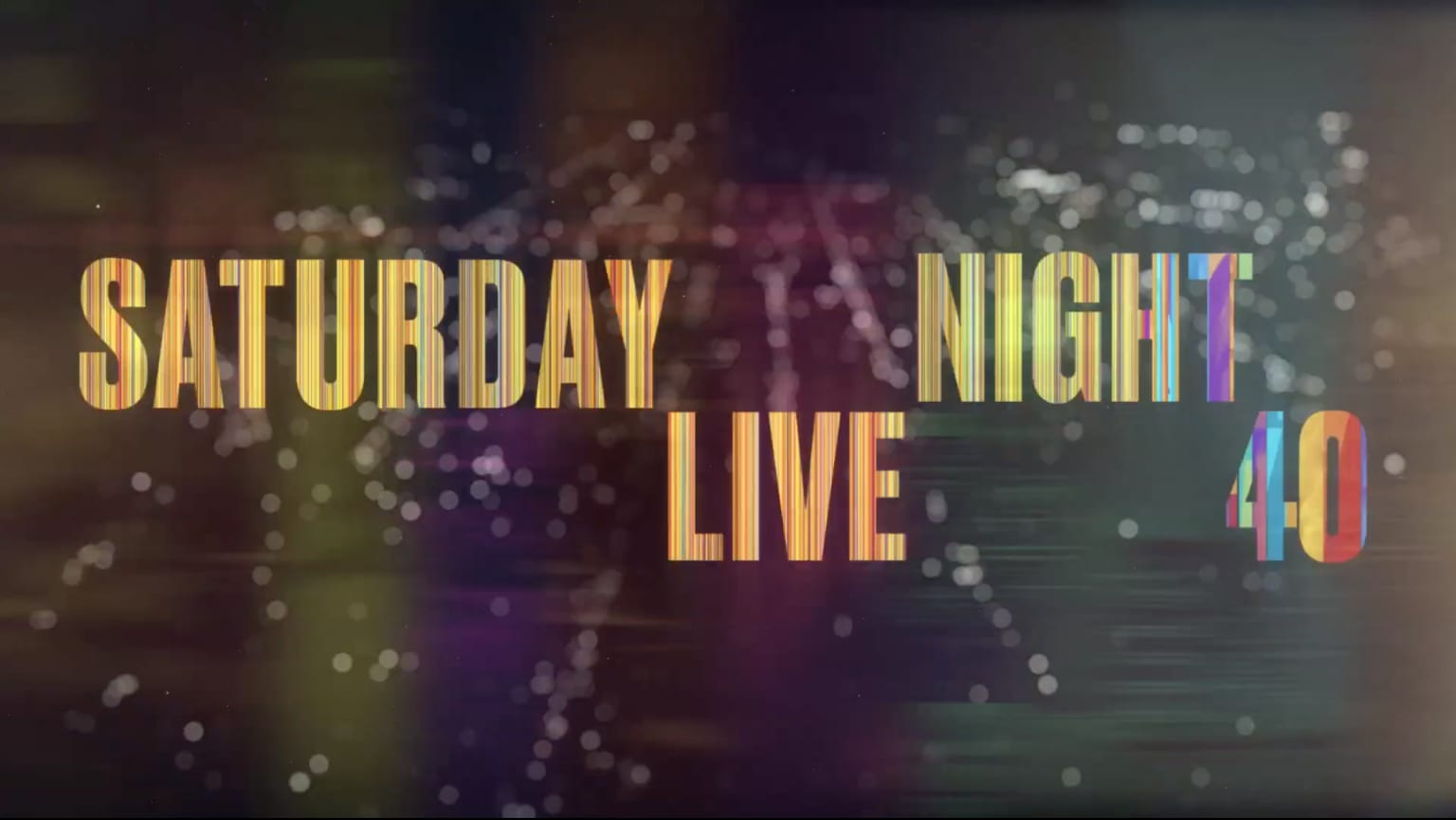 SNL 40th Anniversary Opening Titles
