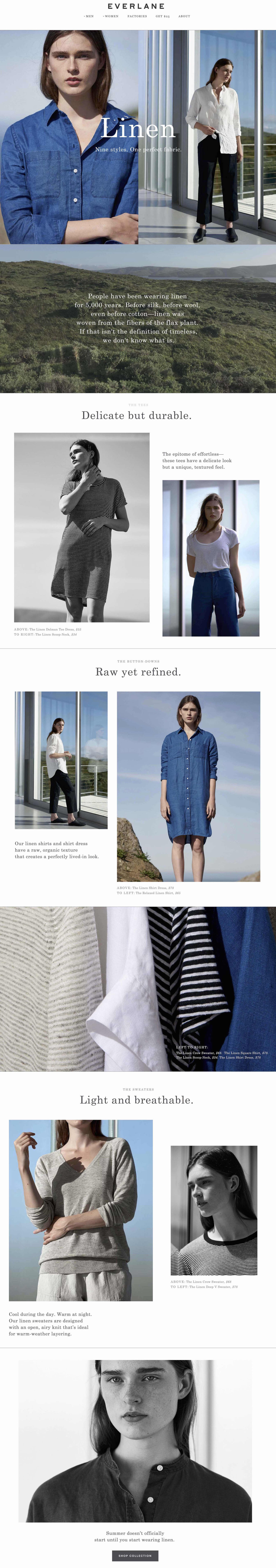 Everlane - Assorted Campaign Launches