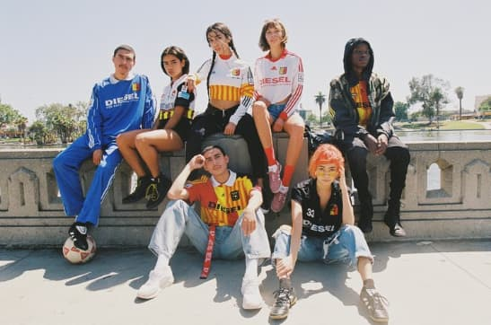 Diesel x RCNSTRCT Collaboration // World Cup Capsule