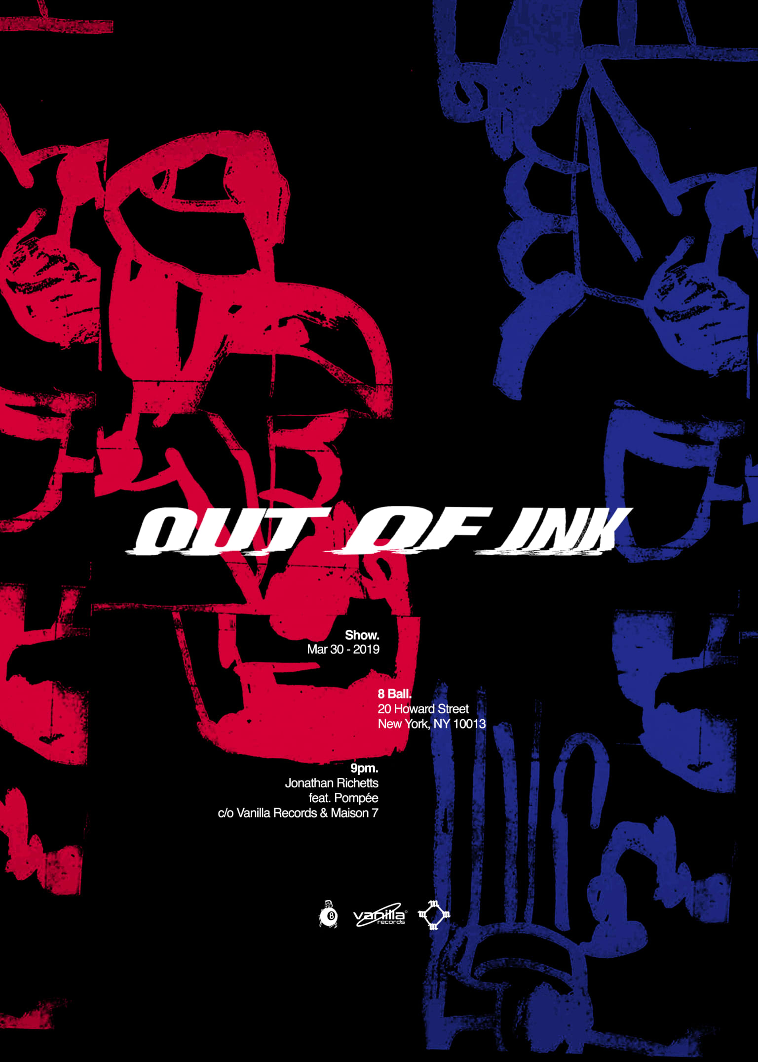 Out of Ink Poster