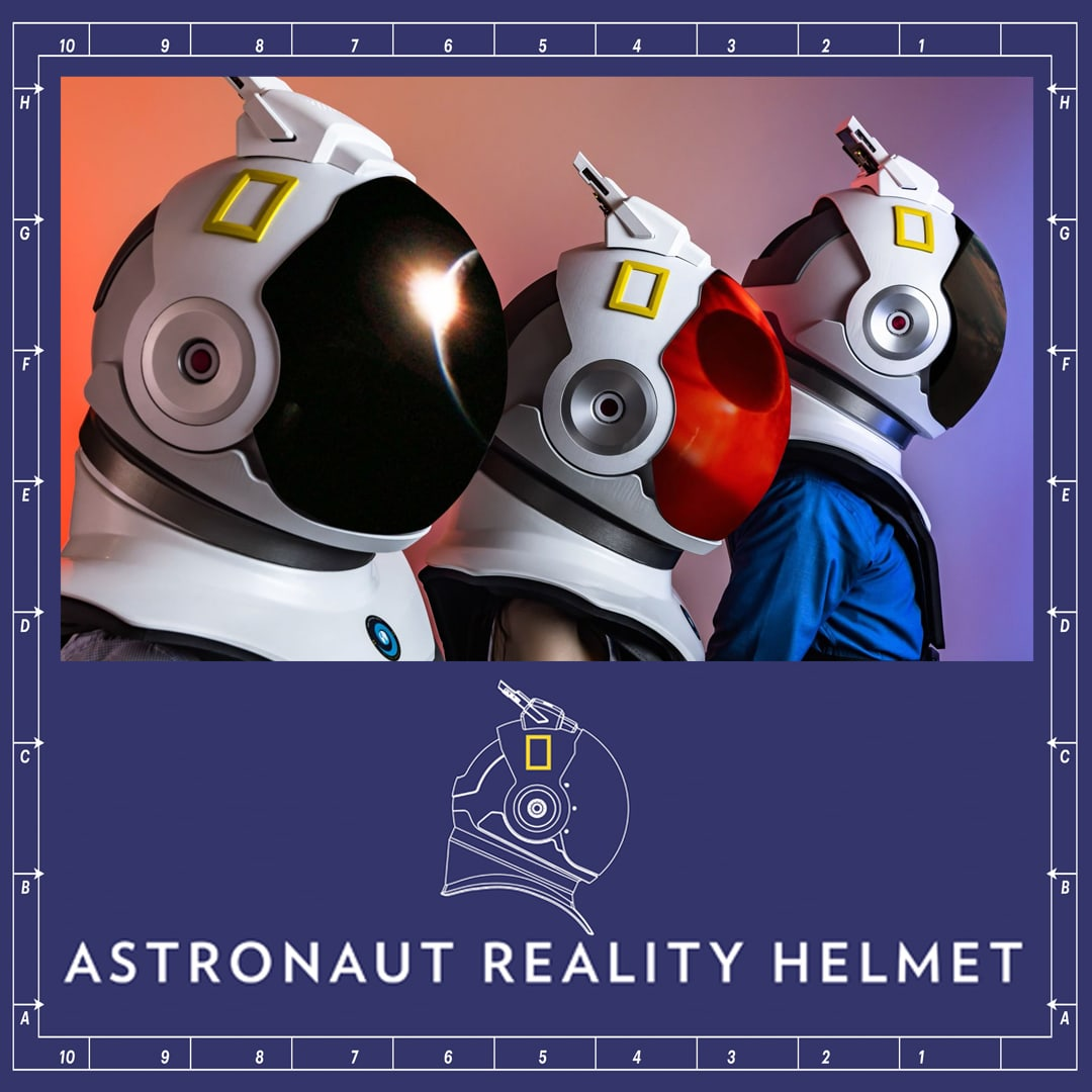Nat Geo Channel: Astronaut Reality Helmet