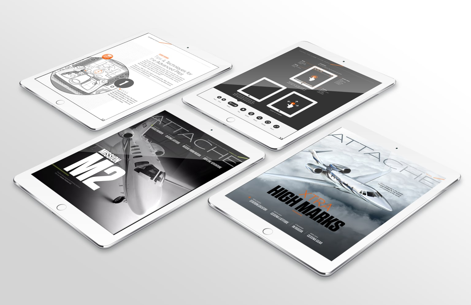 Branded Content, Editorial, and Experiential for Cessna