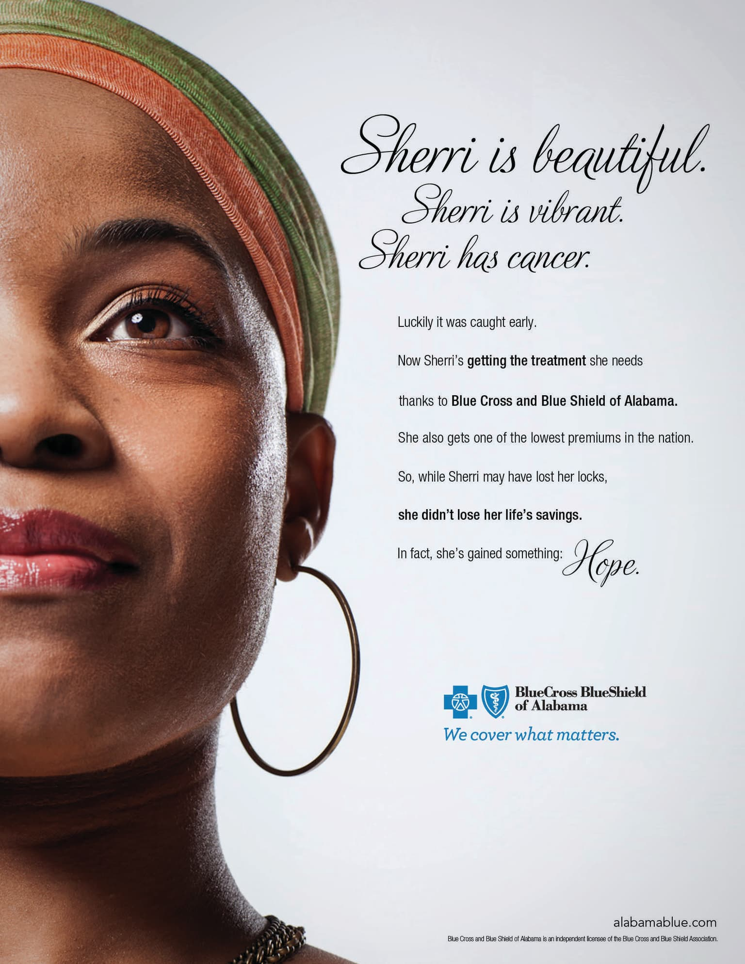 "Blue Cross and Blue Shield ""We Cover What Matters"" campaign"