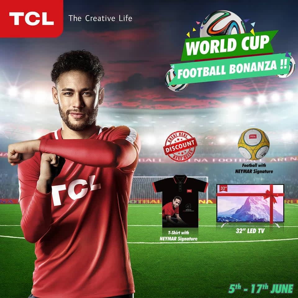 Neymar Jr. for TCL, World Cup 2018