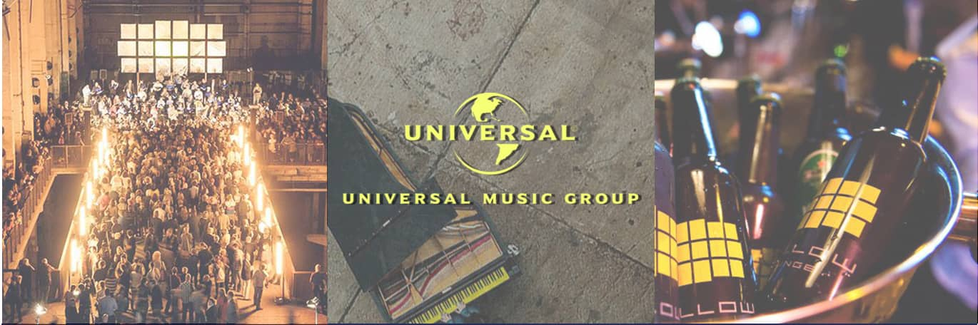 Universal Music Group's YELLOW LOUNGE