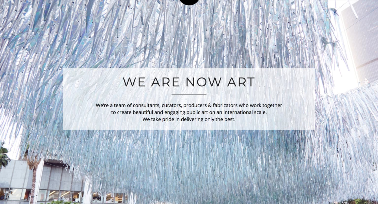 Now Art Website Relaunch