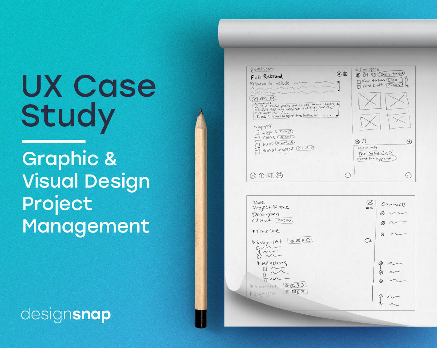 UX Case Study - Project Management for Designers