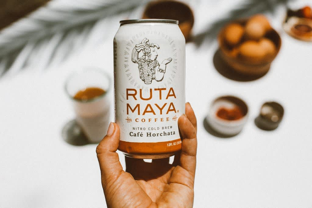 """Ruta Maya Coffee"" Web Design & Copywriting"