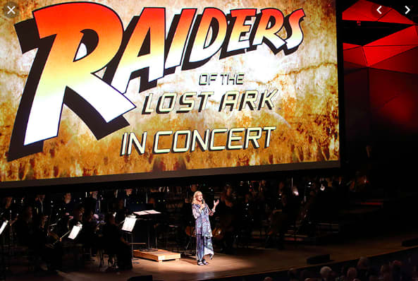 """Raiders of the Lost Arc"" in Boston for ""Film Concerts Live!"""