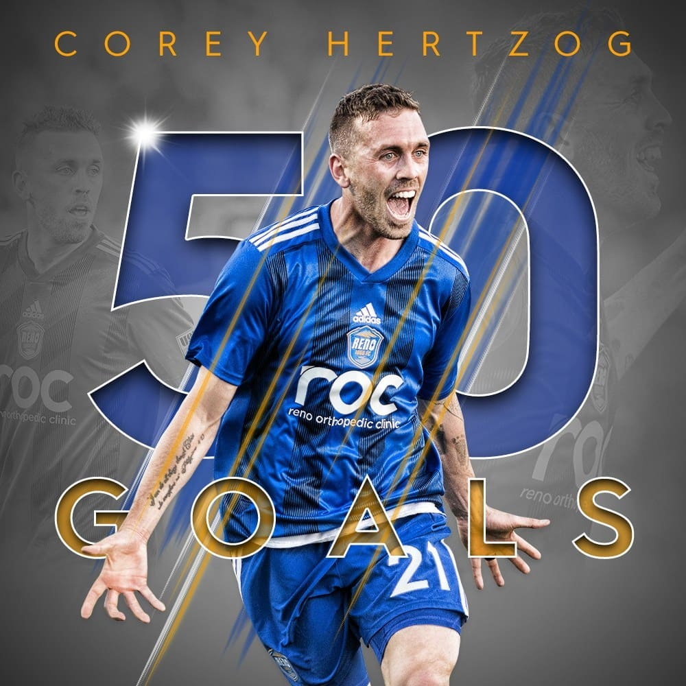 USL Player Milestone graphics