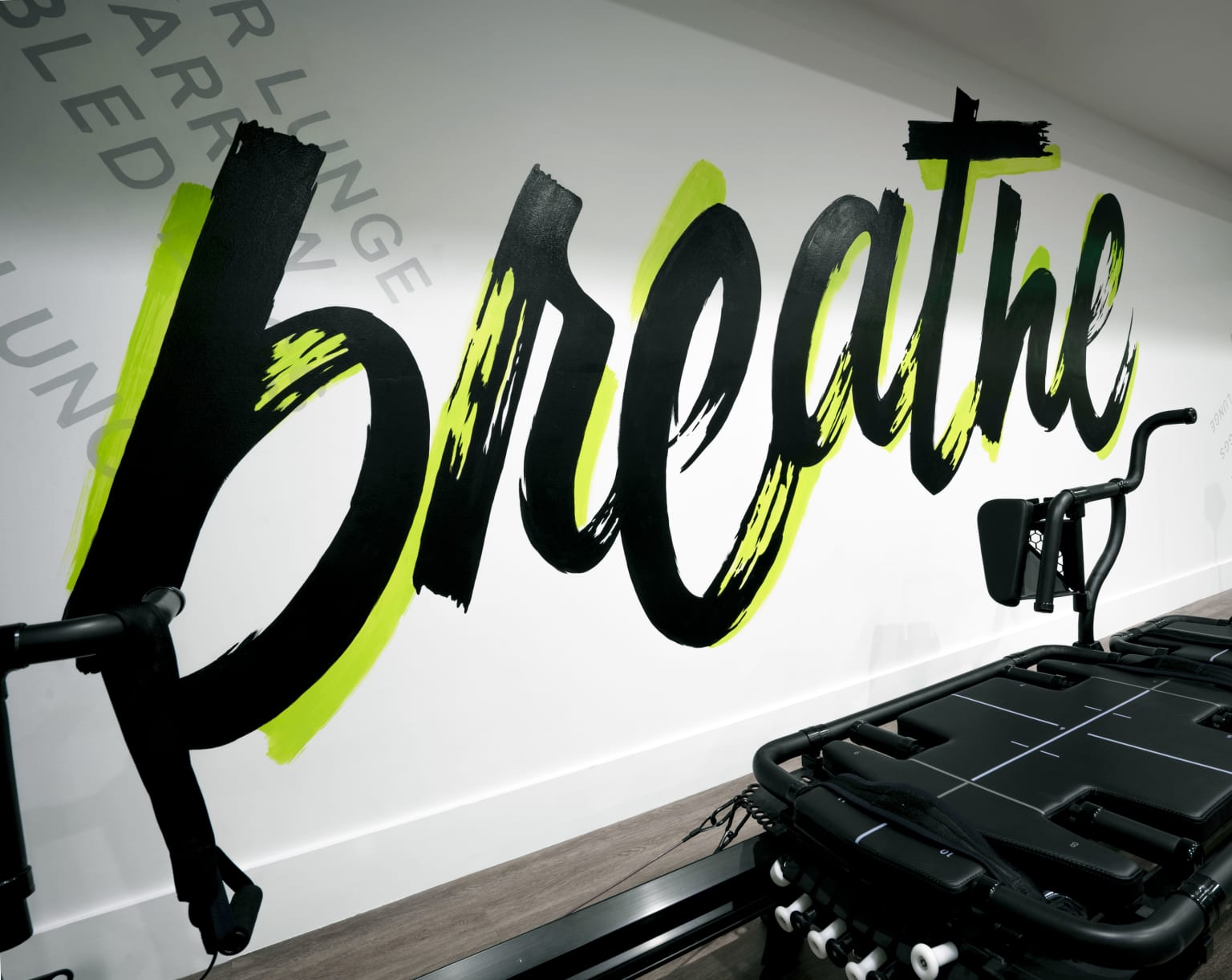 CORE Fitness Mural