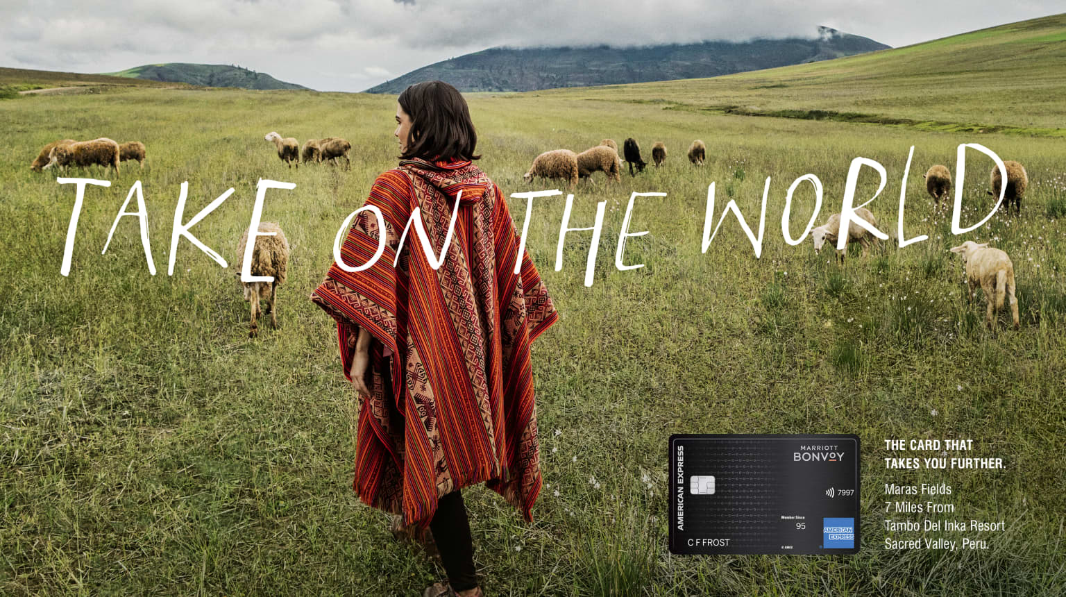 Amex. Take on The World.