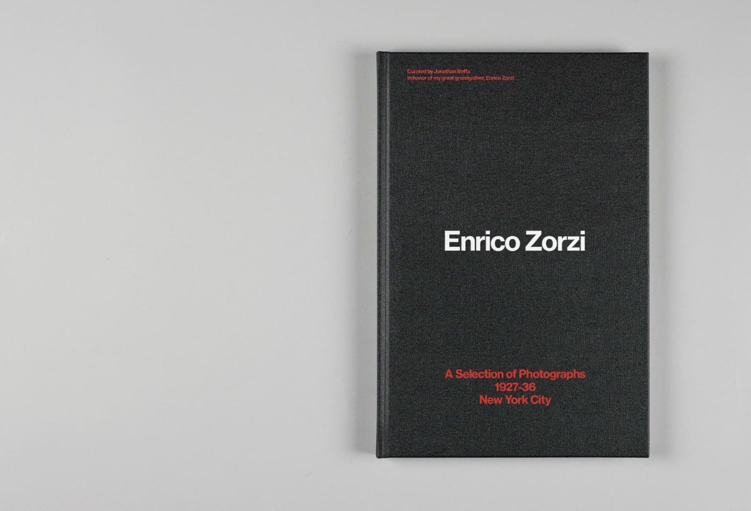 Enrico Zorzi Coffee Table Book