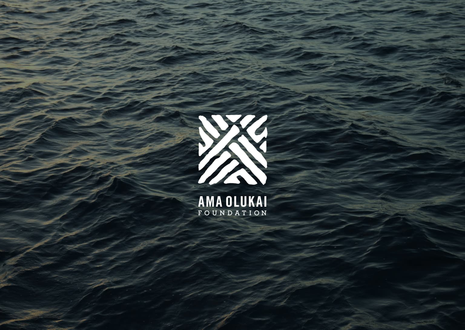 Ama OluKai Foundation Identity