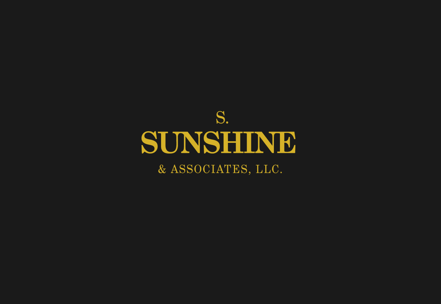 Web Redesign & Dev for S. Sunshine & Associates