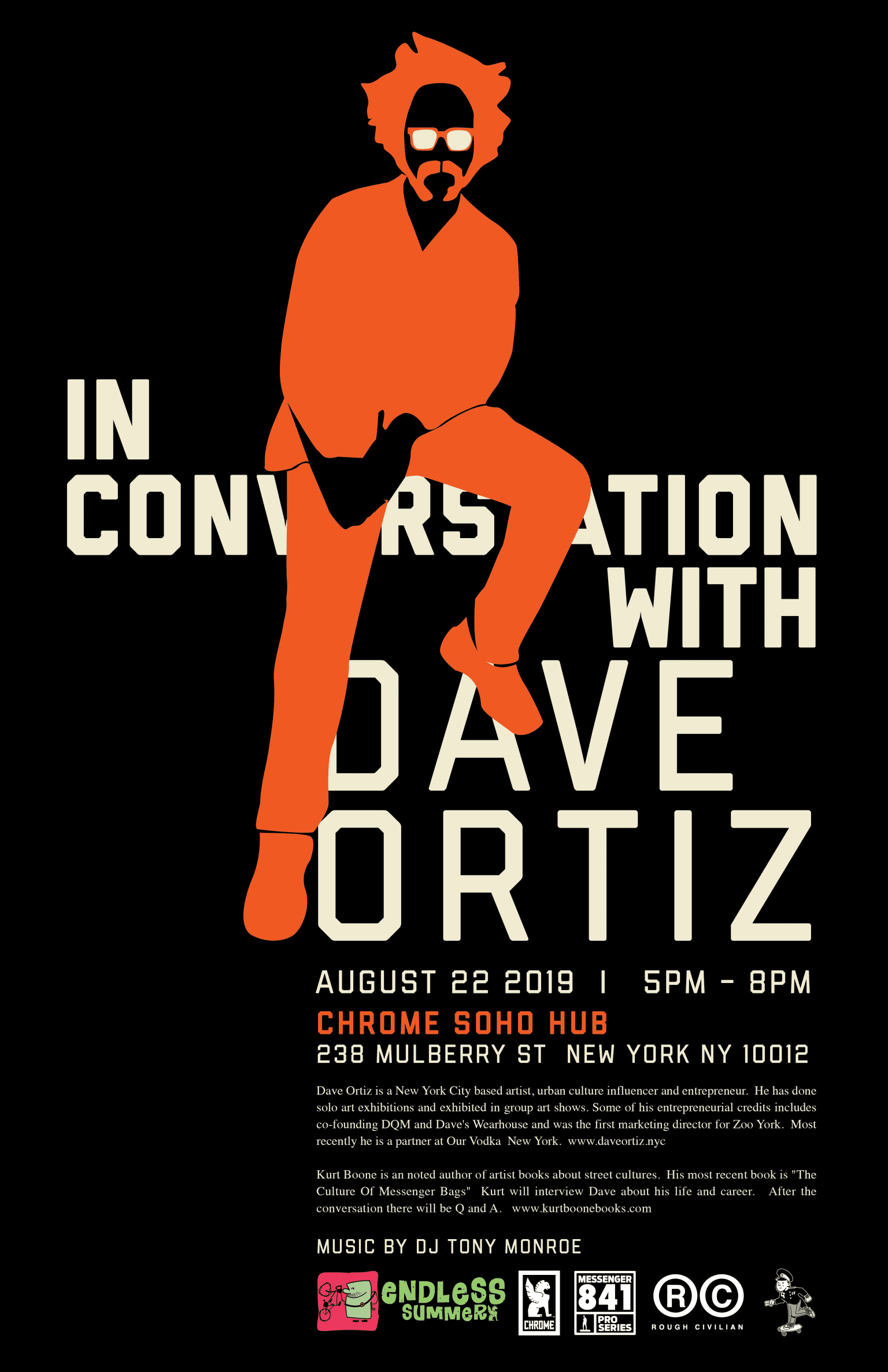 In Conversation with Dave Ortiz