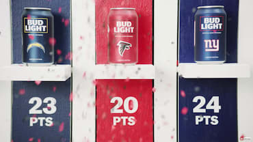 Bud Light - #NFLTeamCans