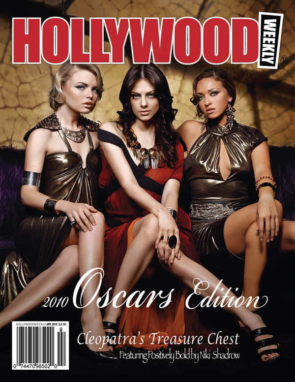 Hollywood Weekly Cover Design