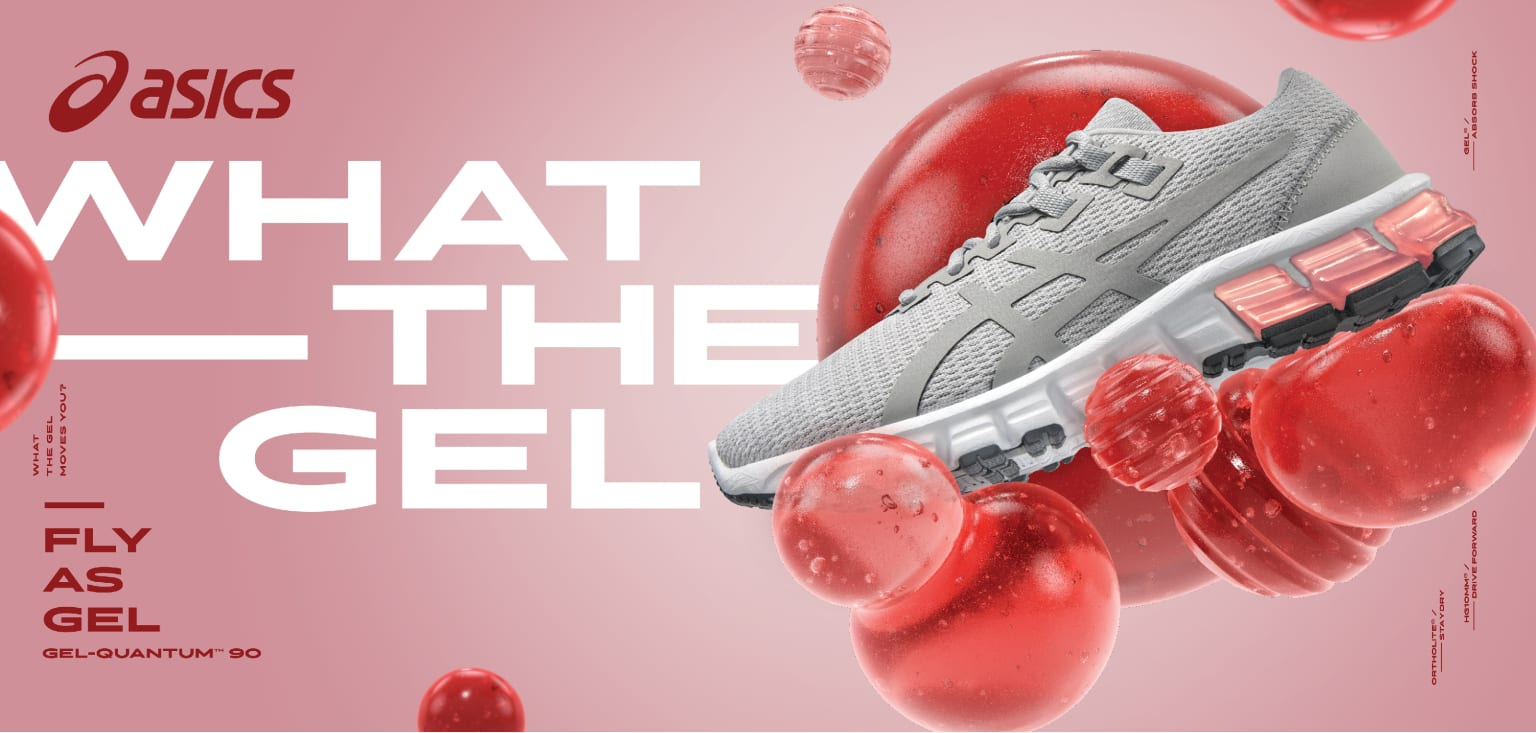 What the GEL, ASICS Retail, North America