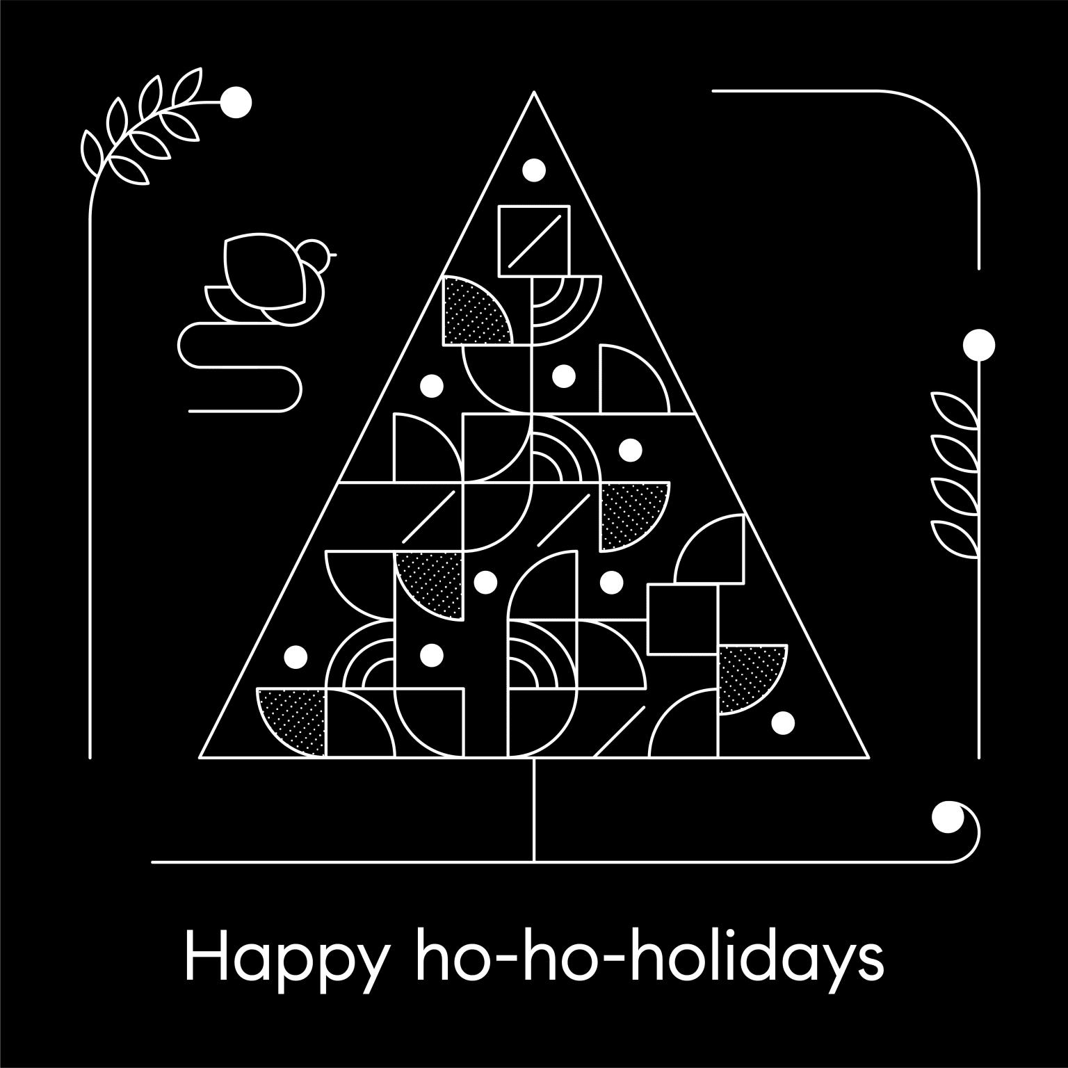 Compass Holiday Illustrations