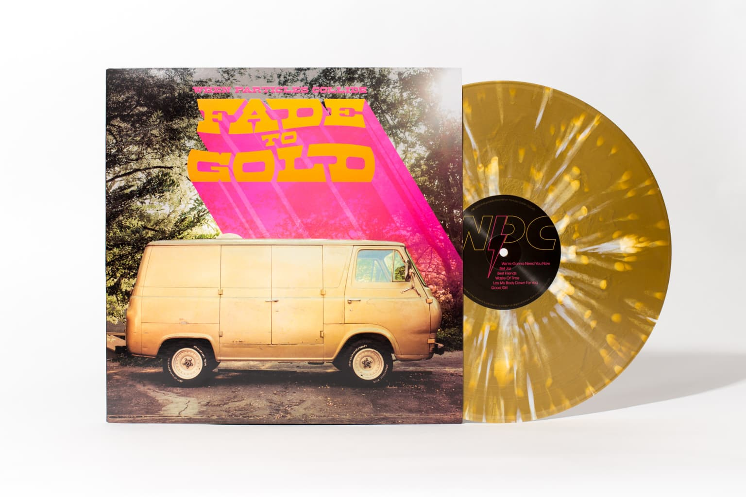 """When Particles Collide """"Fade to Gold"""" Album Packaging"""