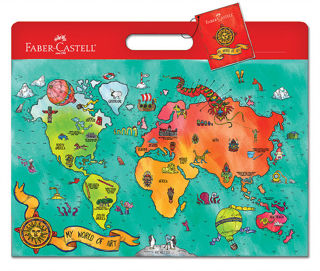 "Faber-Castell ""My World of Art"" Children's Portfolio"