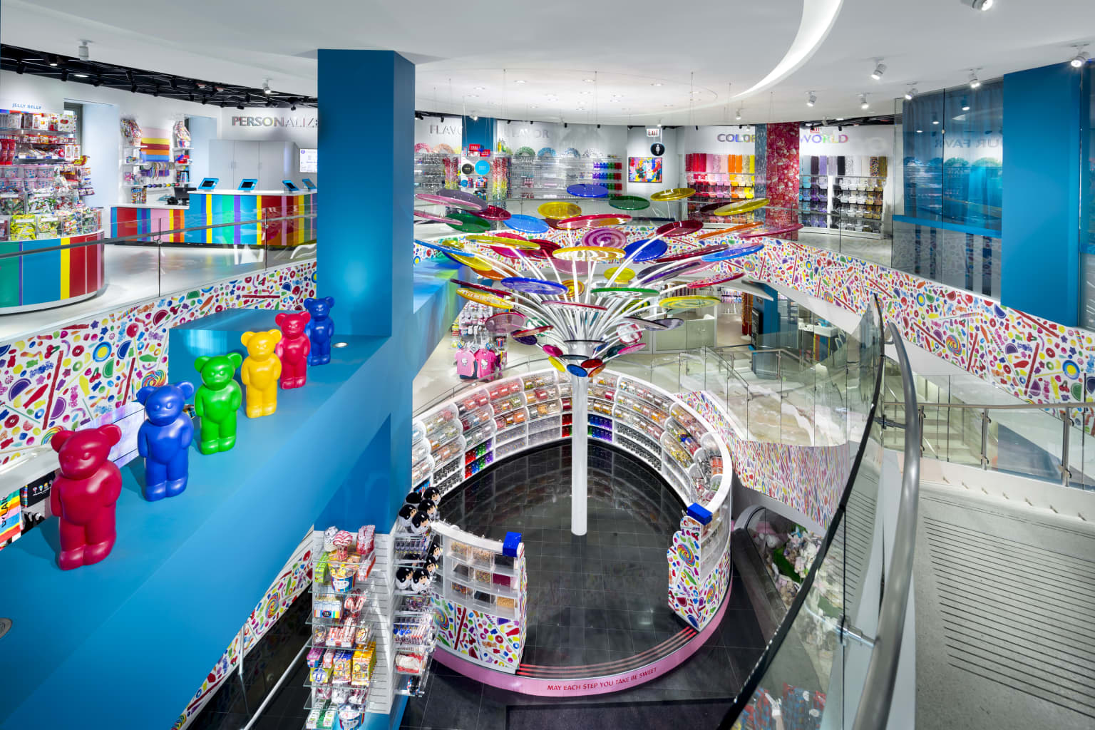 Dylan's Candy Bar Chicago Store Design