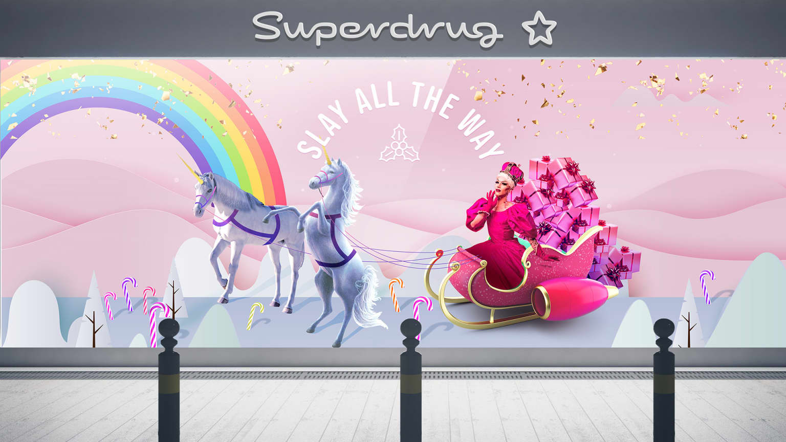 Superdrug Christmas 2019 Campaign