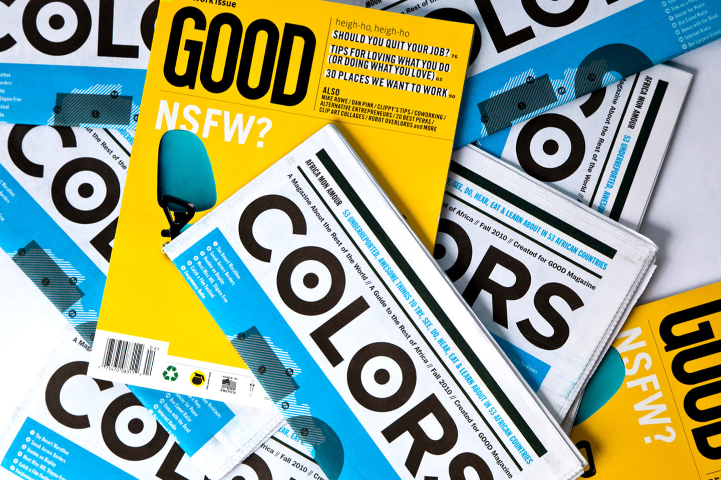 Good Magazine & Colors: A Guide to Africa