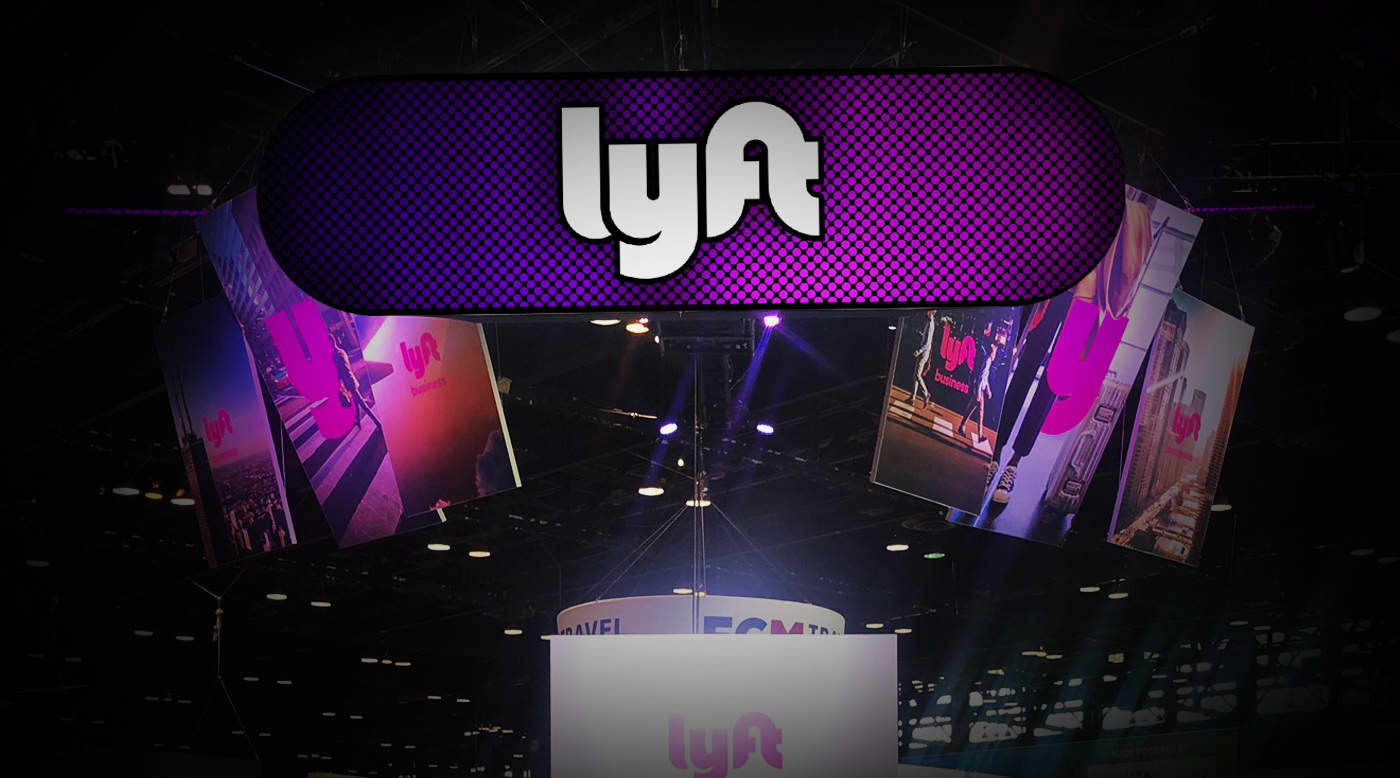 Lyft Trade Show Projection